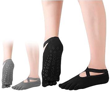 Fu/ßbodensocken Rutschfeste Socken f/ür Sport Ballett ABS-Socken Tanz Socken soggz/® Yoga und Pilates Socken f/ür Damen und Herren Kampfsport Gymnastik Stoppersocken