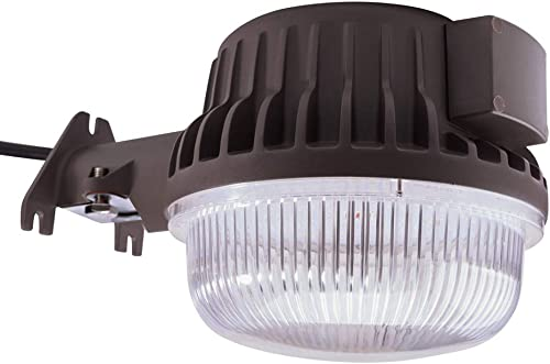Bobcat LED Area Light 60 Watts Dusk to Dawn Photocell Included, 5000K Daylight, 6600LM, Perfect Yard Light or Barn Light, UL Listed DLC, 550W Incandescent or 150W HID Equivalent, 5-Year Warranty