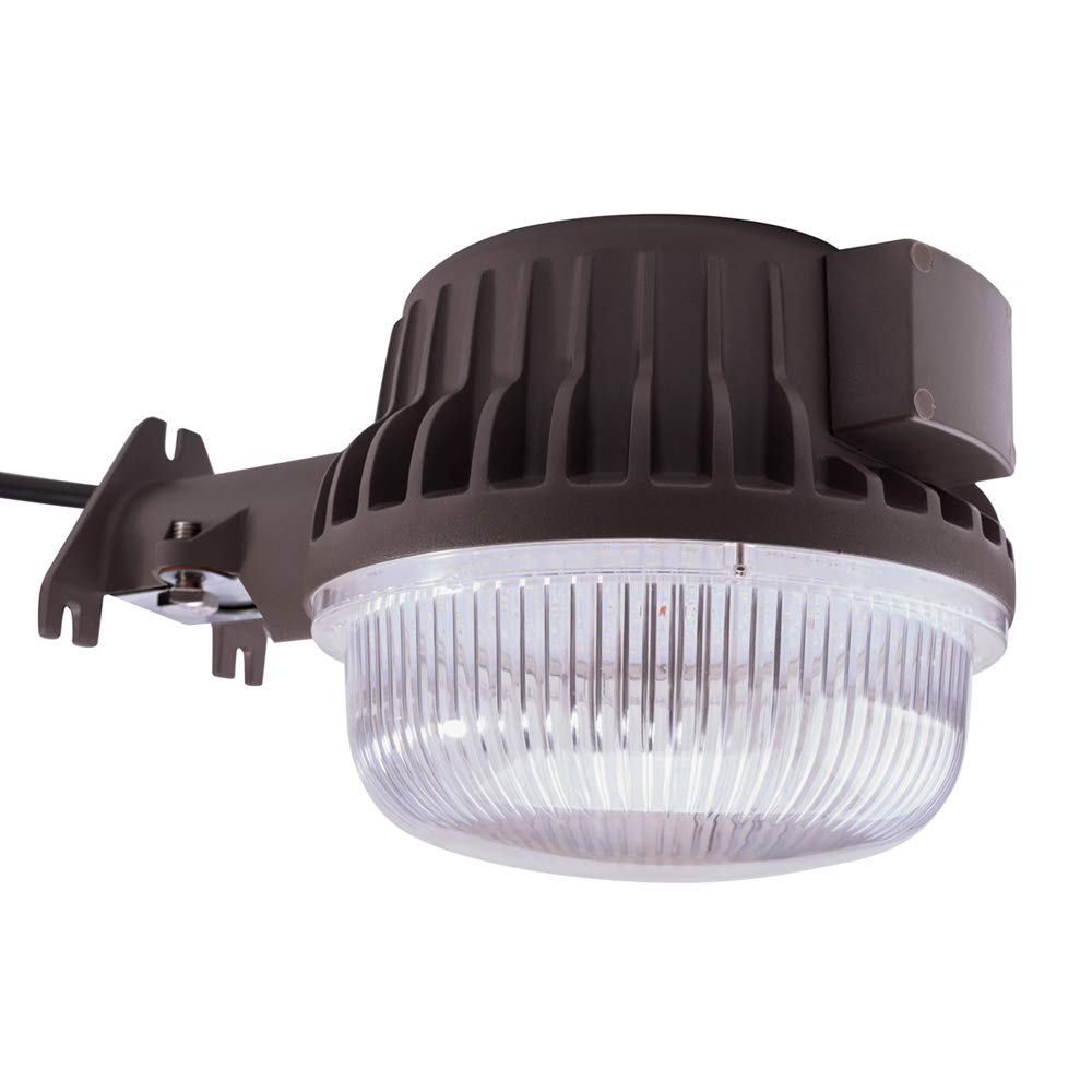 LED Area Light 60 Watts Dusk to Dawn Photocell Included, 5000K Daylight, 6600LM, Perfect Yard Light or Barn Light, UL Listed & DLC, 550W Incandescent or 150W HID Light Equivalent, 5-Year Warranty