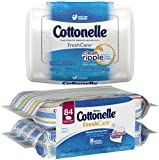 Cottonelle Fresh Care Flushable Moist Wipes Bundle 42 Count Tub Deal
