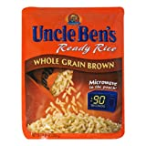 uncle ben brown rice - Uncle Ben's Ready Rice Pouch, Whole Grain Brown, 8.8-Ounce Pouches (Pack of 12)