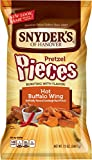 Snyder's of Hanover Pretzel Pieces, Hot Buffalo Wing, 12 Ounce (Pack of 12)
