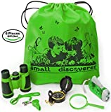 Outdoor Exploration Set - Kids Adventure Pack - Perfect 3-12 year old boy toys and girl toys - Good...
