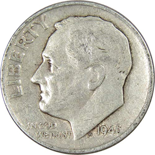 1946 10c Roosevelt Silver Dime Average Circulated