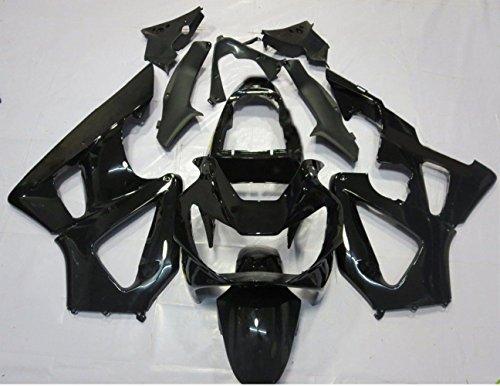 ZXMOTO Painted Bodywork Fairing Kit For Honda CBR 929RR 2000 2001 ABS Injection - Glossy Black