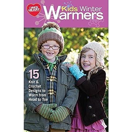 Coats Crochet Abrigos ganchillo abrigos y Clark, niños invierno calentadores