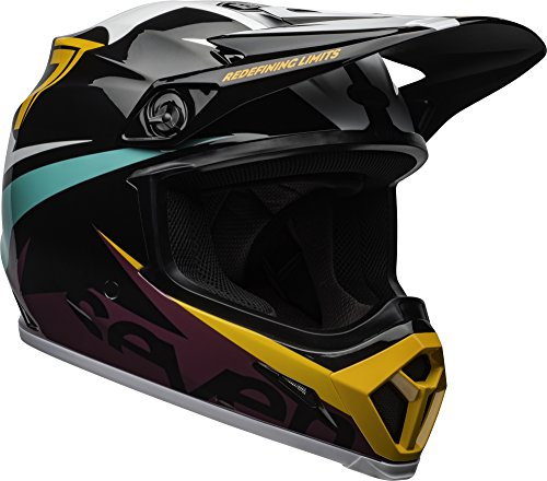 System Cooling Motorcycle (Bell MX-9 MIPS Off-Road Motorcycle Helmet (Seven Ignite Gloss Aqua, Medium))