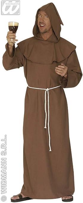 WIDMANN Disfraz de Monje para Hombre: Amazon.es: Juguetes y juegos