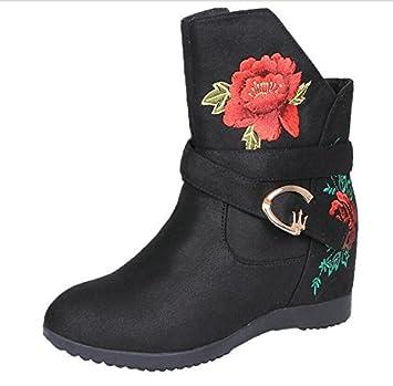 AJUNR Damen Neue Mode Schuhe Der Winter des alten Peking