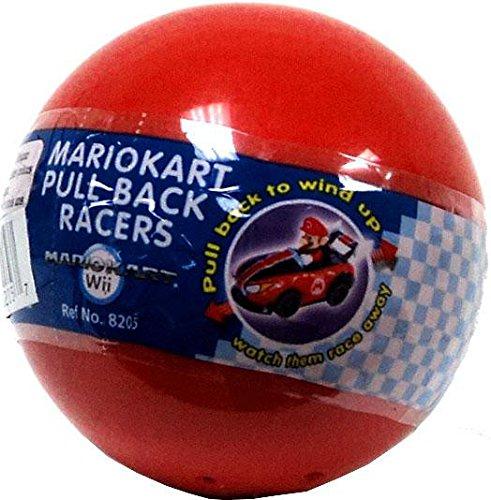 Mario Kart Wii Pullback Racers Gacha Ball (Styles Vary) Vehicle