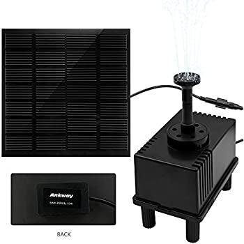 Newstyle 7v 1 5w solar power panel kit water for Solar water filter for ponds