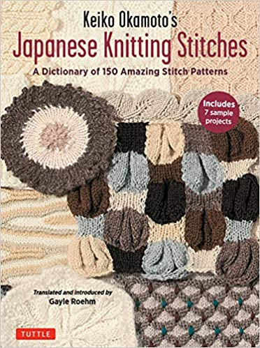 Amazon Keiko Okamotos Japanese Knitting Stitches A Stitch