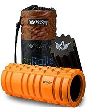ZenOne Sports Faszienrolle ZenRoller + Gratis E-Book & Übungsposter I Premium Massagerolle I Faszien Rolle für Triggerpunkt-Massage