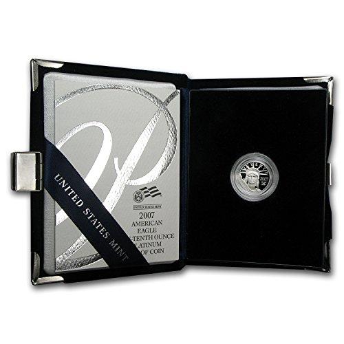 2007 W 1/10 oz Proof Platinum American Eagle (w/Box & COA) Issue Brilliant Uncirculated