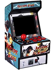 Mini Arcade Game Machine RHAC01 2.8Inch 156 Classic Handhold Games Portable Machine for Kids with Eye-Protected Screen Golden Security