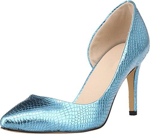 femme CFP Compensées Sandales clair bleu EPwSUOq