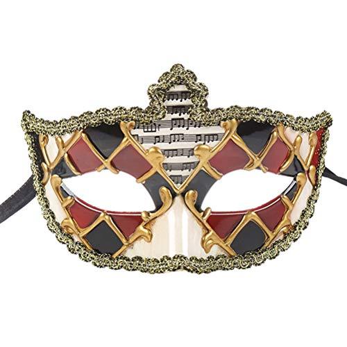 Vintage Design Masquerade Mask Phantom Of The Opera Venetian Carnival Zhhlinyuan]()