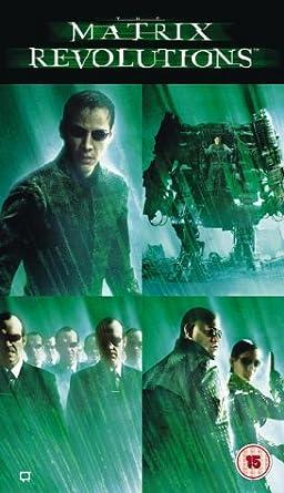 The Matrix Revolutions Vhs
