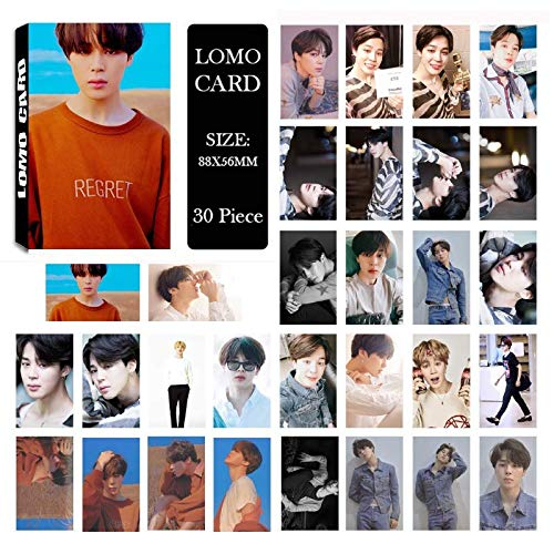 Jewelry Findings & Components - Youpop Kpop BTS Bangtan Boys Fake Love Yourself Tear New Album LOMO Cards K-POP Self Made Paper Photo Card HD Photocard LK577 - by YPT - 1 PCs