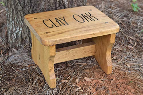 Personalized Kids Stepping Stool - Kids Step Stool - Personalized Gift for Kids - Step Stool - Wood Stool ()