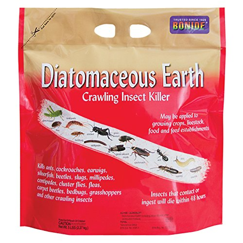 Bonide Products 121 037321001218 Diatomaceous Earth, 5 lbs, Ready to Use Crawling Bug/Roach Killer