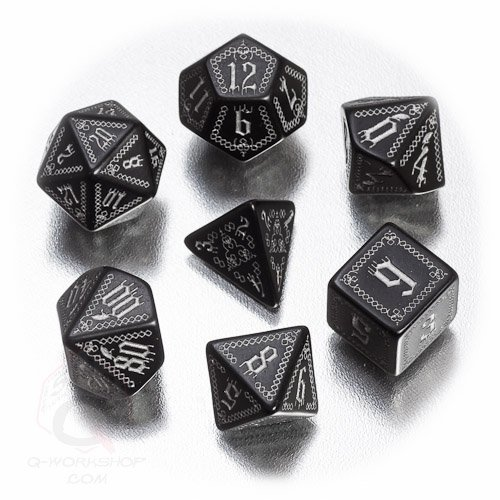 Q Workshop Polyhedral 7 Die Set Pathfinder product image