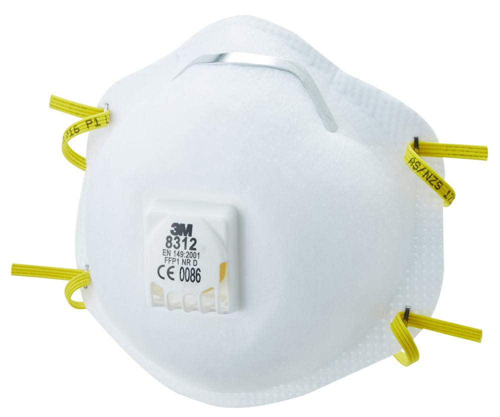 Respirator Valved En Ffp1 3m Safety 8312 Disposable Certified