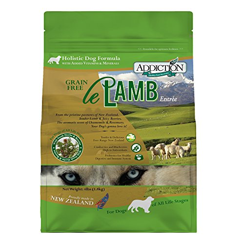 Addiction Le Lamb Grain Free Dry Dog Food, 4 Lb.
