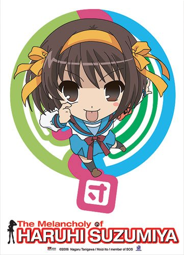 (Great Eastern Entertainment Haruhi SOS Wall Scroll, 33 by 44-Inch)