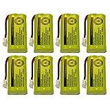 Replacement Telephone Battery for VTech 8300 / BATT-6010 / BT18433 / BT184342 / BT28433 / BT284342 / 89-1326-00-00 / CPH-515D (8-Pack)