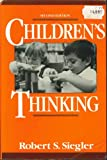 Children's Thinking, Siegler, Robert S., 0131312103