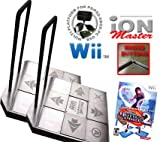 2 x Wii Dance Dance Revolution iON Master Arcade Metal Dance Pad with Raised Buttons and Strong Hand
