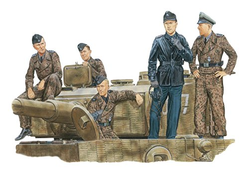 Dragon 1/35 WW.II Germany armed guards tank Army Tiger ACE Normandy 1944 plastic model DR6028 by Dragon