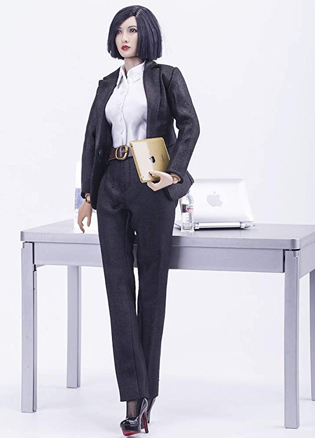 1//6 Female Jumpsuit Model Costume Clothes Corset Toy Elastic Model F Figure