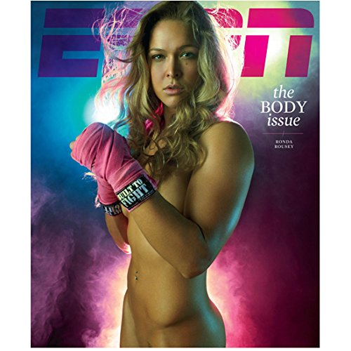 Ronda Rousey 'Built to Fight' Posing Promo 8 x 10 Inch Photo