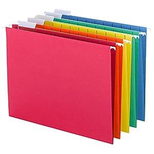 Amazon Com Smead Hanging File Folders 1 5 Cut Tab