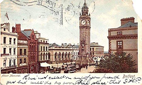 Albert Memorial Belfast Ireland Postcard