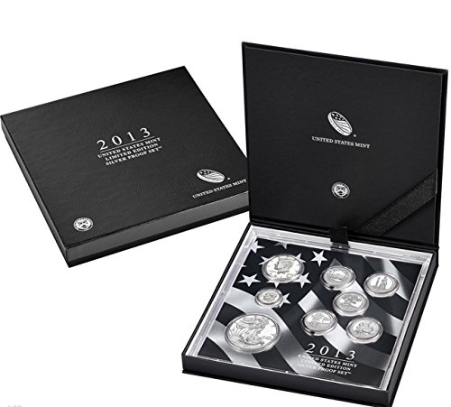 2013 S Silver Proof Set 2013 Limited Edition Silver Proof Set Complete Good