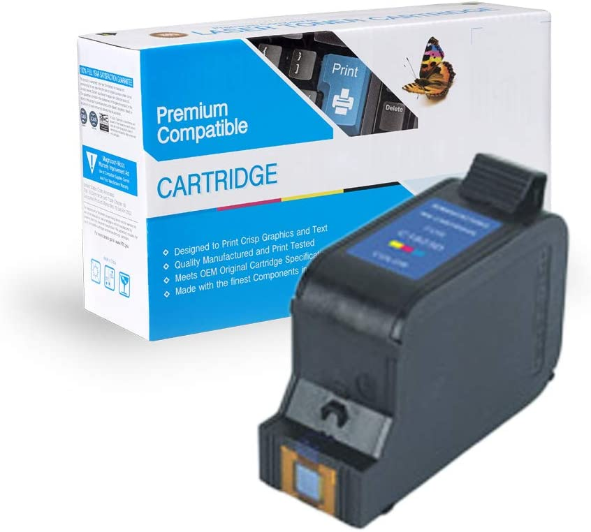 MS Imaging Supply Compatible Remanufactured Inkjet Cartridge Replacement for HP C1823D 23 Color, 4 Pack