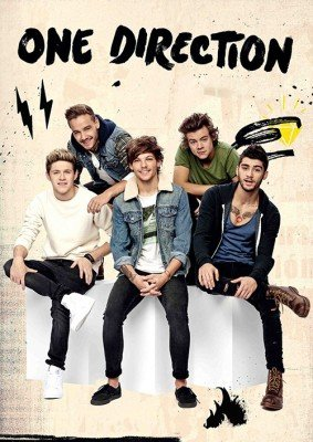 Posterhouzz One Direction Poster Fine Art Print(18 Inch X 12 Inch, Rolled) (Cheap One Direction)
