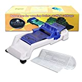Sushi Making Kit, 1 x Sushi Mat, 1 x Sushi Maker Roller/Dolma Sarma Roller/Cabbage Roller/Vegetable Meat Roller/Stuffed Grape Leaves Rolling Machine for Beginners and Children
