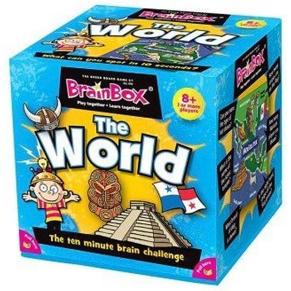 Brain Box Juego de Memoria The World, en catalán, Multicolor (31693405A): Amazon.es: Juguetes y juegos