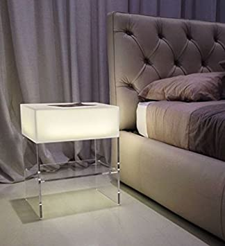 Table De Chevet Design Light De Avec éclairage Led Et