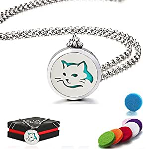 Amazon.com: Essential Oil Diffuser Necklace, Air Freshener
