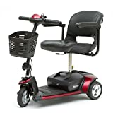 Go-Go Elite Traveller Mobility Scooter by Pride 3-Wheel - Red/Blue
