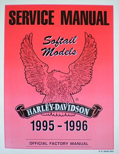 Service Manual Softail Models Harley Davidson 1995-1996 Official Factory Manual