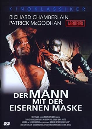 der mann mit der eisernen maske richard chamberlain