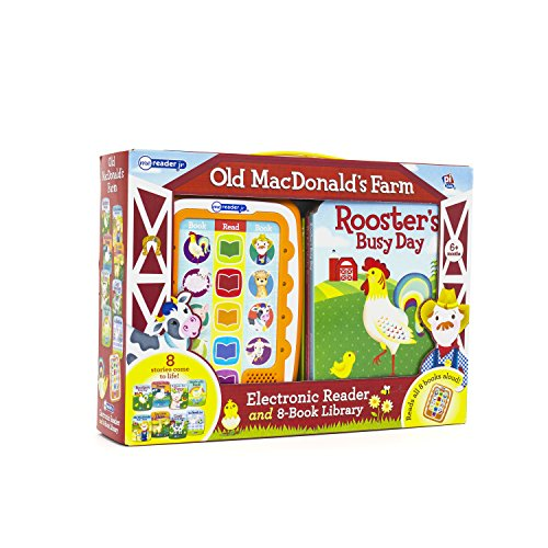 Me Reader Jr Old MacDonald's Farm: Electronic Reader and 8-Book Library 9781405894012 from Ecom