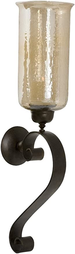 Uttermost 8 1 2 Inch By 30 7 Inch Joselyn Candle Wall Sconce Antique Bronze Home Kitchen
