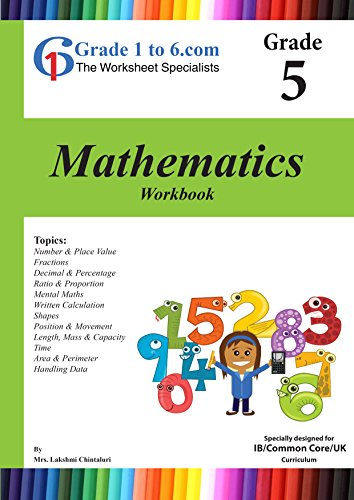 Amazon.com: Grade 5 Maths: IB/ KS2/K-6 Workbook (www.Grade1to6.com ...